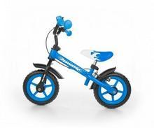Milly Mally Rowerek biegowy Dragon z hamulcem niebieski
