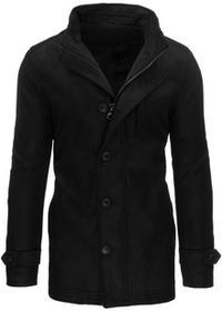 Płaszcz męski zimowy czarny (cx0341) cx0341_m Czarny