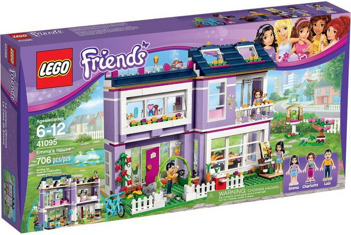 LEGO Friends Dom Emmy 41095