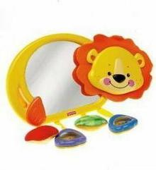 Fisher Price Uśmiechnięty lew z lusterkiem N7321