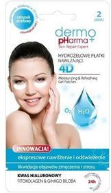 Dermo Pharma DermoPharma Hydrożelowe płatki Nawilżające pod oczy 1 para