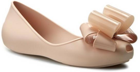 Zaxy Baleriny Link Ballerina Fem 82038 Beige 90059 W285030 tworzywo/-wysokogatunkowe tworzywo
