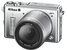 Nikon 1 AW1 + 11-27.5 mm srebrny