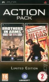 Action Pack (Brothers in Arms D-Day + Rainbow Six Vegas) PSP