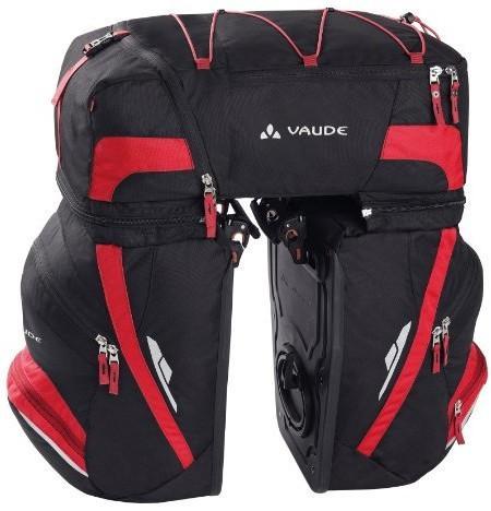 Vaude VAUDE torba na bagażnik, 3-krotny, czarny 10828