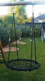Huśtawka ogrodowa dla dzieci bocianie gniazdo, czarna V_134190759
