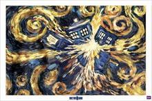 Doctor Who (Exploding Tardis) - Plakat