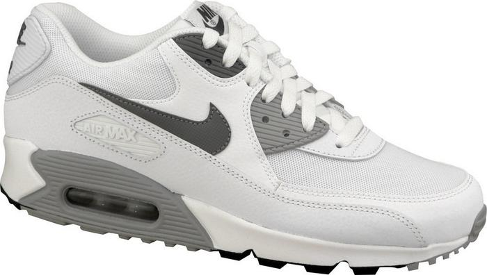 nike air max 90 essential szare biale