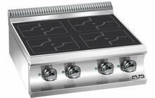 MBM Kuchnia indukcyjna stołowa z 4 stanowiskami grzewczymi | 700x730x(H)250 mm | 4x 3,5 kW E777I