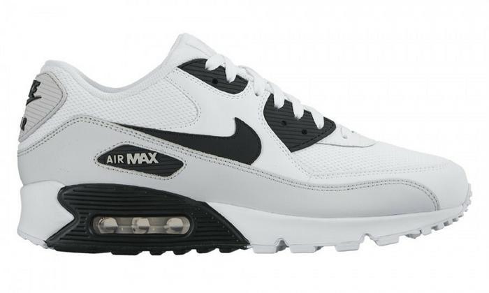 air max 90 biało czarne