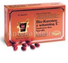 Pharma nord BIO-KAROTEN + witamina E 30 kaps 7023796