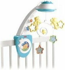 Fisher Price Fish Toys - Gwiezdna karuzela ze światełkami i projektorem Y3635