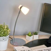 Lampenwelt Nicaro - lampa stołowa z kloszem