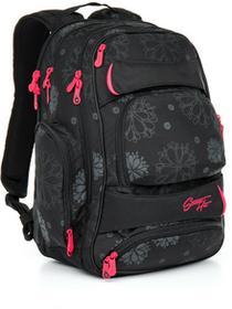 Topgal Plecak młodzieżowy HIT 863 A - Black