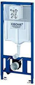 Grohe Rapid SL Do kompaktu WC ściennego spłuczka 6 - 9 l, wysokość zabudowy 1,13 m 38897000