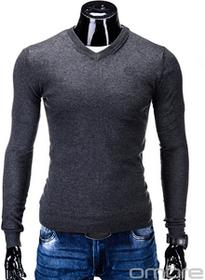 Ombre Clothing SWETER E74 - GRAFITOWY