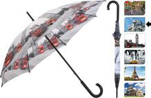 Parasol manualny CITY, Parasolka - 105 cm - barcelona