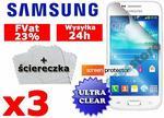 2x Folia ochronna na ekran do Samsung Galaxy Trend Plus + 2x ściereczka 392