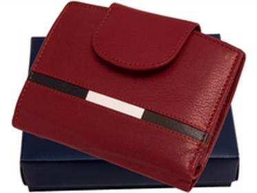 Loren portfel skóra N26 NYC R Mały i pojemny portfel skórzany w pudełku. Swoi