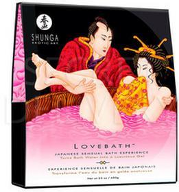 Shunga Lovebath Fruit zestaw do żelowej kąpieli o zapachu owoców egzotycznych E24921