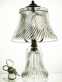 Crystal Julia LAMPA stojąca KRYSZTAŁOWA na prezent 3712
