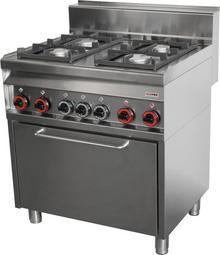 RedFox Kuchnia gazowa CFE4 - 8 G 00009986