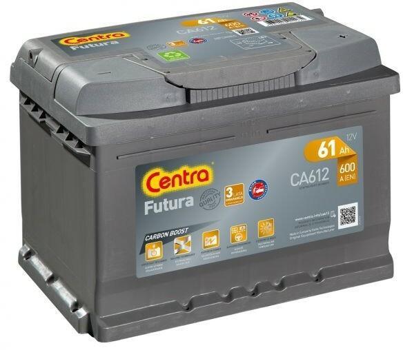 Centra Futura Carbon Boost CA612 61Ah/600A P+