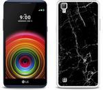 Etuo.pl Fantastic Case - LG X Power - etui na telefon Fantastic Case - czarny marmur ETLG376FNTCFC032000