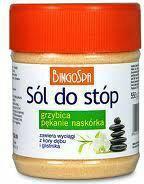 Bingo Sól do stóp grzybica, pękający naskórek 550G