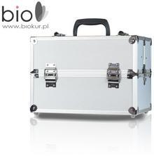 Neonail kuferek kosmetyczny mały L srebrny -