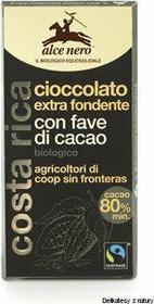 Alce Nero czekolada gorzka z kawałkami kakao BIO - 100 g
