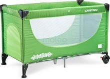 Caretero Simplo Green New łóżeczko turystyczne