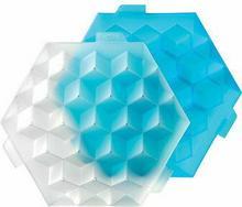 Lekue Foremki do lodu Ice Cube niebieskie 0250500Z10C003