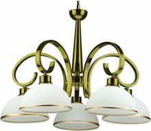 Candellux Klasyczna LAMPA wisząca OPRAWA Żyrandol DO salonu MANDARIN 35-00845 Patyna