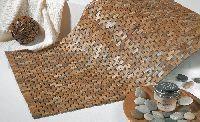 Dywanik łazienkowy 60 x 60 cm teak Sealskin Woodblock 293326674