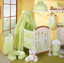 Mamo-Tato Falbanka do kolekcji śpiący miś w zieleni