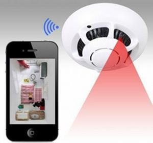 eNexus Kamera WiFi w wykrywaczu dymu STK-101