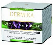 Dermika Vitamina P Plus Krem do twarzy przeciwzmarszczkowy nawilżający 50ml