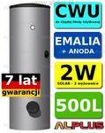 Winkelmann OEM SOLAR 500l 2W by Pionowy 2-wężownice. Bojler Wymiennik Zbiornik O