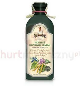 Pierwoje ReszenieSzampon ziołowy - czarny przeciwłupieżowy 350 ml
