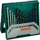 Bosch Wiertła do drewna kamienia i metalu 15 szt.