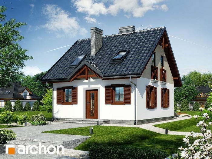 Archon+ Dom w borówkach ver 2 (powierzchnia 83.51 m2)