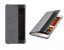 Huawei FLIP VIEW SMART COVER MATE 9 PRO + SZKŁO kolor JASNO-SZARY