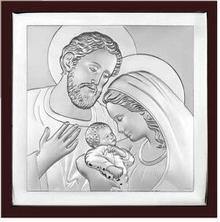 Beltrami Obrazek Święta Rodzina w ciemnej oprawie -(BC#6435WM)