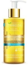Bielenda Uszlachetniony olejek arganowy do oczyszczania twarzy kwas hialuronowy 140ml Bielenda