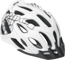 Kellys Kask rowerowy DARE white-black