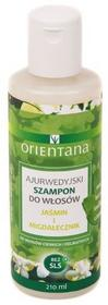 Orientana Jaśmin i Migdałecznik - Ajurwedyjski Szampon do Włosów 210 ml