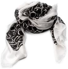 Calvin Klein Black Label Szal BLACK LABEL - Ck Allover Long Scar K60K602713 001