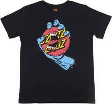 Santa Cruz koszulka Hand Dot Black BLACK) rozmiar 12-14