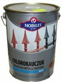 Nobiles Podkład Chlorokauczuk Czerwony tlenkowy 1L